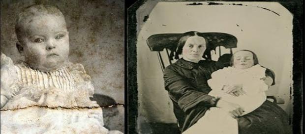 Fotografías post mortem de recién nacidos.