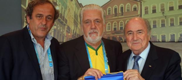I condannati Michel Platini e Joseph Blatter