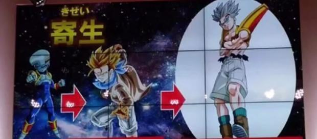 Imgen de la nueva transformacion Super Baby Trunks