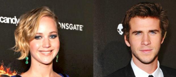 Jennifer Lawrence e Liam Hemsworth