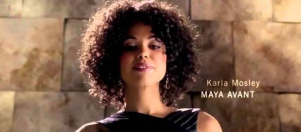 Maya Avant ascolterà le dure parole del padre