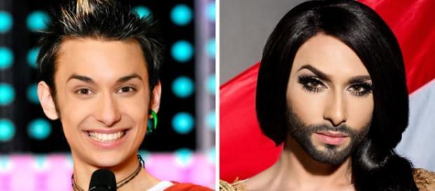 El antes y después de Conchita Wurst