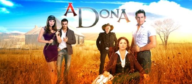 "Imagem promocional de ""A Dona"""