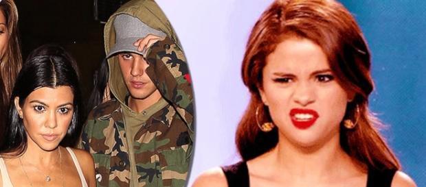 Kourtney se sentiu intimidada por Selena