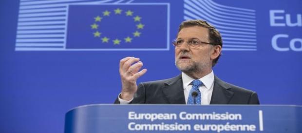 Rajoy en la Comisión Europea. Flickr