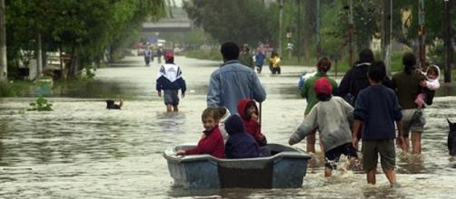 Son más de mil los evacuados en Concordia