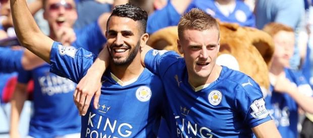 Mahrez e Vardy, protagonisti sabato a Liverpool?