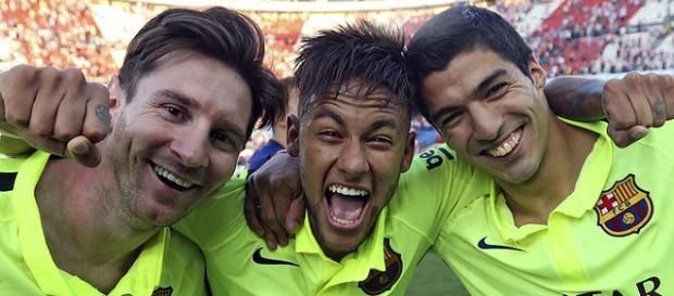 Messi, Neymar, Suarez, Bildquelle: barcelona.com