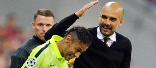Neymar e Guardiola podem estar juntos no City