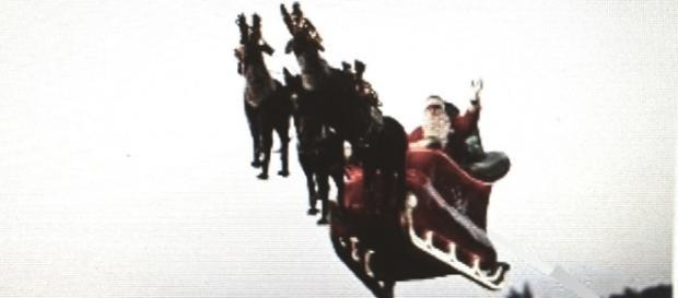 Babbo Natale e le Renne volanti
