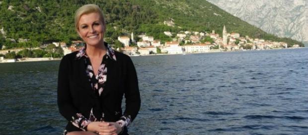 Kolinda Grabar-Kitarović, presidente da Croácia