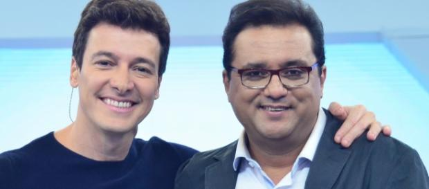 Rodrigo Faro e Geraldo Luis se desentendem