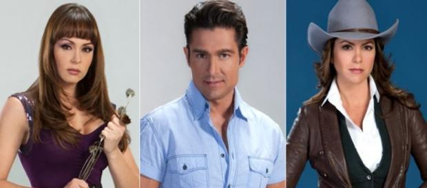 """Spanic, Colunga e Lucero: astros de """"A Dona"""""""
