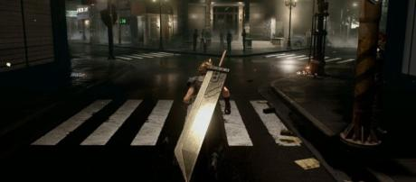 Jogabilidade do remake de Final Fantasy VII