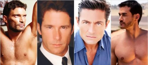 Esses atores são grandes galãs de novelas.