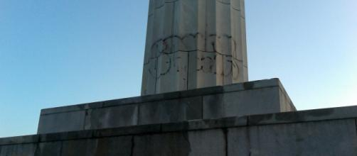 New Orleans Monuments become Targets of Graffiti