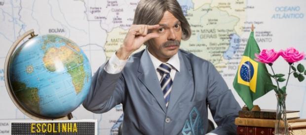 Bruno Mazzeo é prof. Raimundo (Foto: Divulgação)