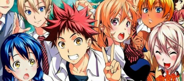Imagen promocional de Shokugeki No Soma
