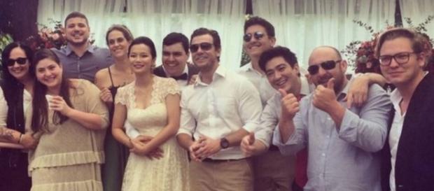 Jiang Pu no seu casamento - Imagem: Google