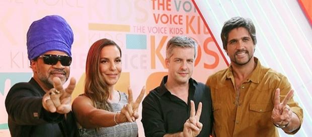 Jurados do The Voice Brasil Kids