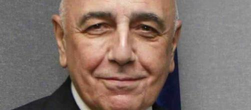 Adriano Galliani, amministratore delegato Milan