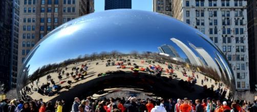 Chicago, un'immagine suggestiva del Could Gate