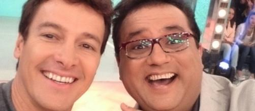 Geraldo Luis e Rodrigo Faro se desentendem
