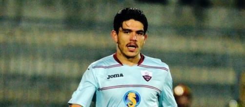L'autore del gol, Lito Fazio (Photo Bova)