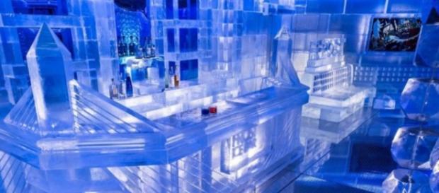 Bar de gelo - Imagem: divulgação