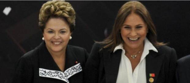 Dilma e Fafá de Belém - Imagem: Google