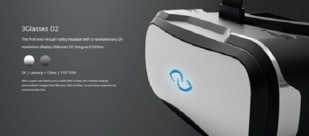 Gafas Virtuales de Gigabyte 3Glasses D2