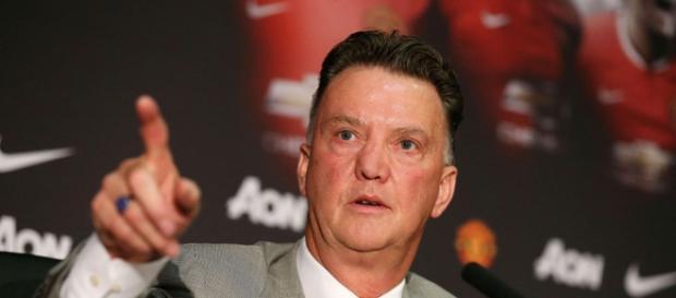 Louis Van Gaal, allenatore del Manchester United