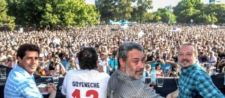 """678"" en Parque Saavedra a favor de Sabbatella"