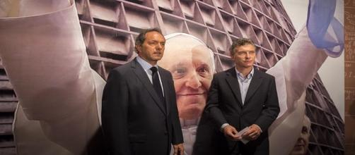 Daniel Scioli y Mauricio Macri, rivales políticos