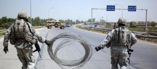 Las fuerzas de seguridad iraquíes el domingo