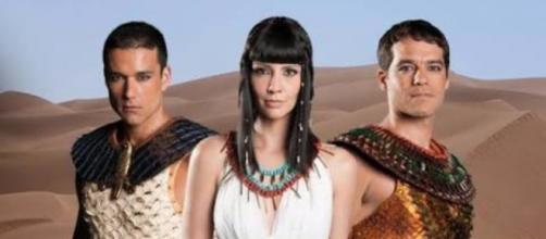 Trio principal da primeira temporada da trama