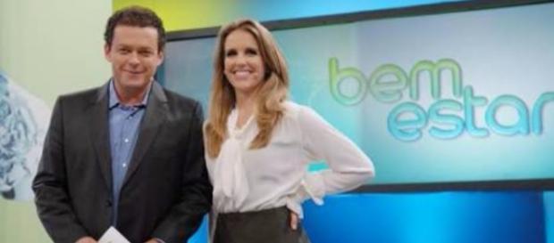 Apresentadores do 'Bem Estar' da Globo