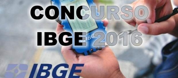 Inscrições abertas Concurso IBGE 2016