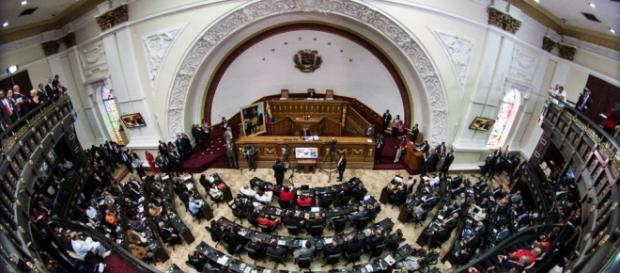 la instalación de la nueva La Asamblea Nacional