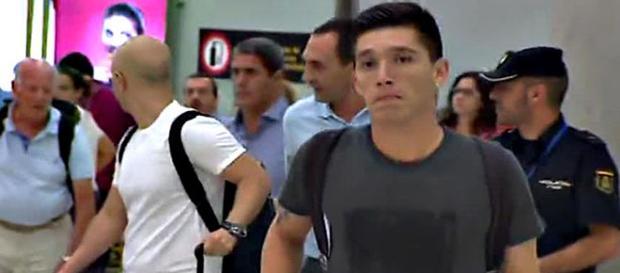 Matías Kranevitter, a su llegada a Madrid