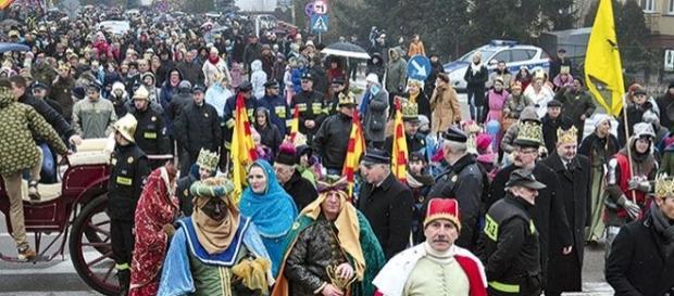 Orszak Trzech Króli w Rypinie-Ziemia Dobrzyńska