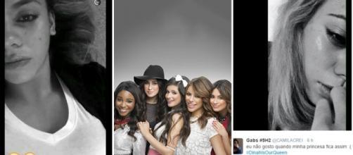 Após nudes de Dinah, fãs a apoiam no Twitter