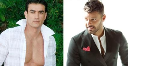 Suposto romance entre David Zepeda e Ricky Martin