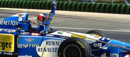 Schumacher foi campeão mundial em 94 e 95