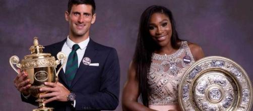 Serena Williams y Novak Djokovic, dioses en 2015