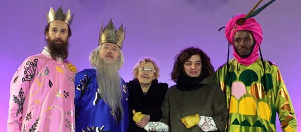Los polemicos reyes magos de la Sra. Carmena