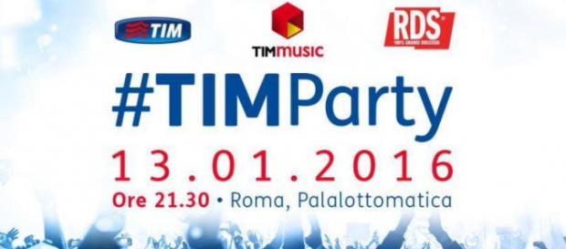 #TIMParty al Palalottomatica di Roma 2016