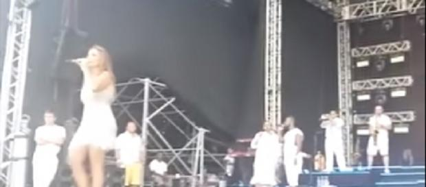 Vídeo de Ivete Sangalo tendo crise de ciúmes