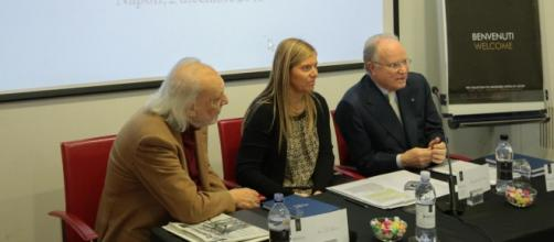 Gianni Carità in conferenza stampa (F. Omninapoli)