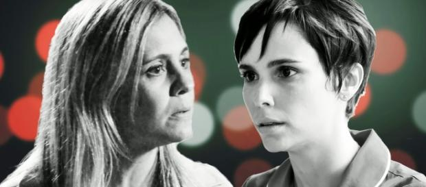 Adriana Esteves e Débora Falabella.